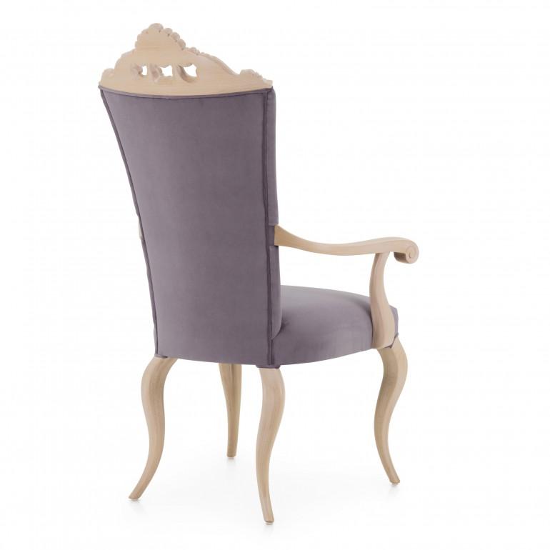 6890 baroque style wood armchair antesia7