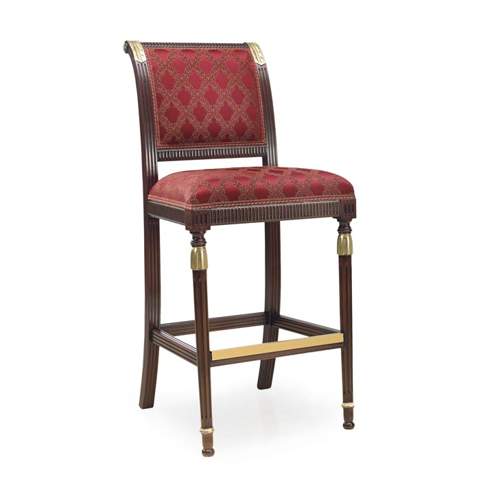 69 classic style wood barstool magistra