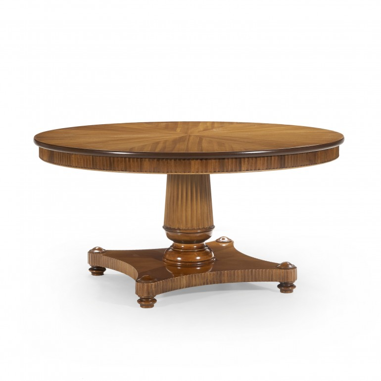 6949 classic style wood table priamo
