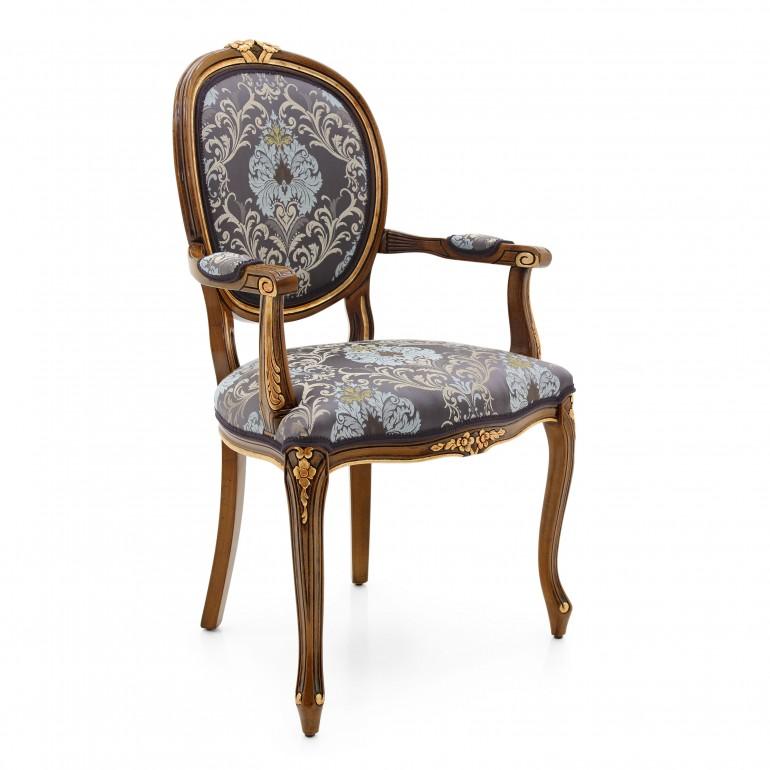 6951 classic style wood armchair kiev2