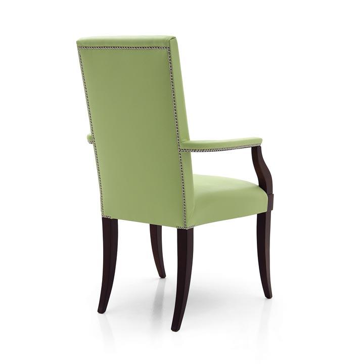 7 modern style wood armchair luna2