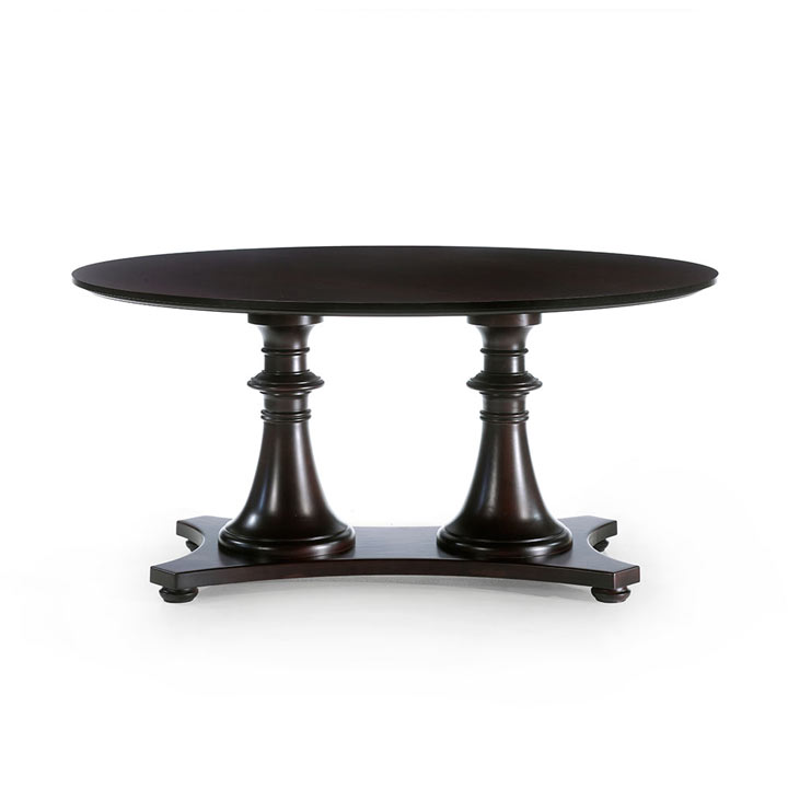 7 modern style wood table double