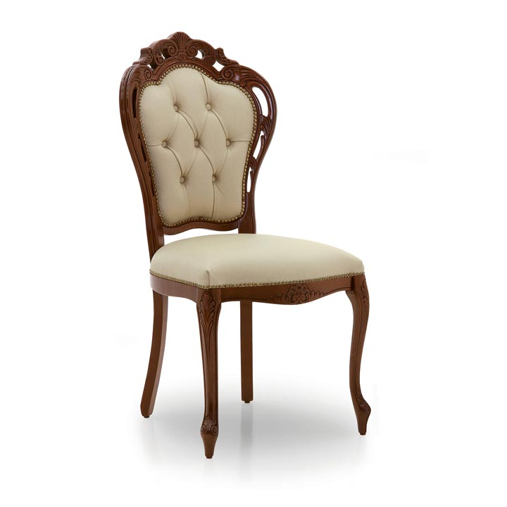 70 classic style wood chair traforata