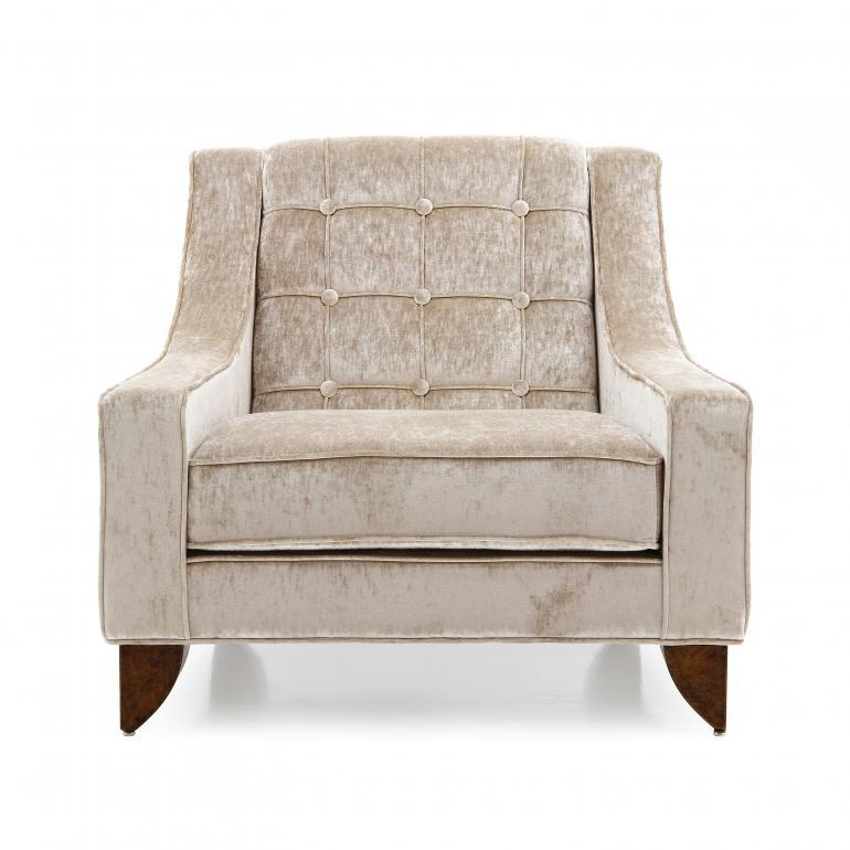 7049 modern style wood armchair giunone6