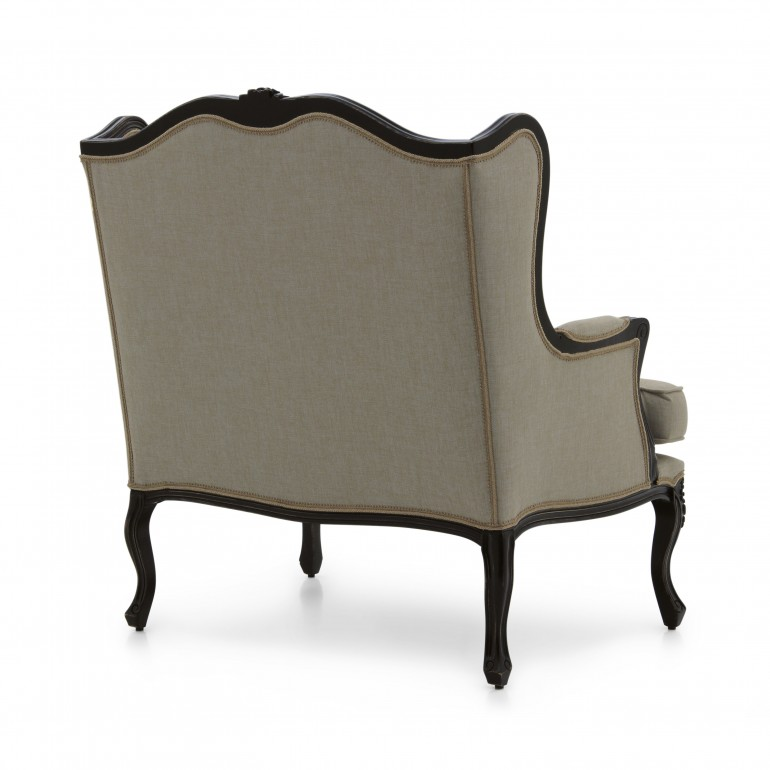 7083 classic style wood armchair stige5