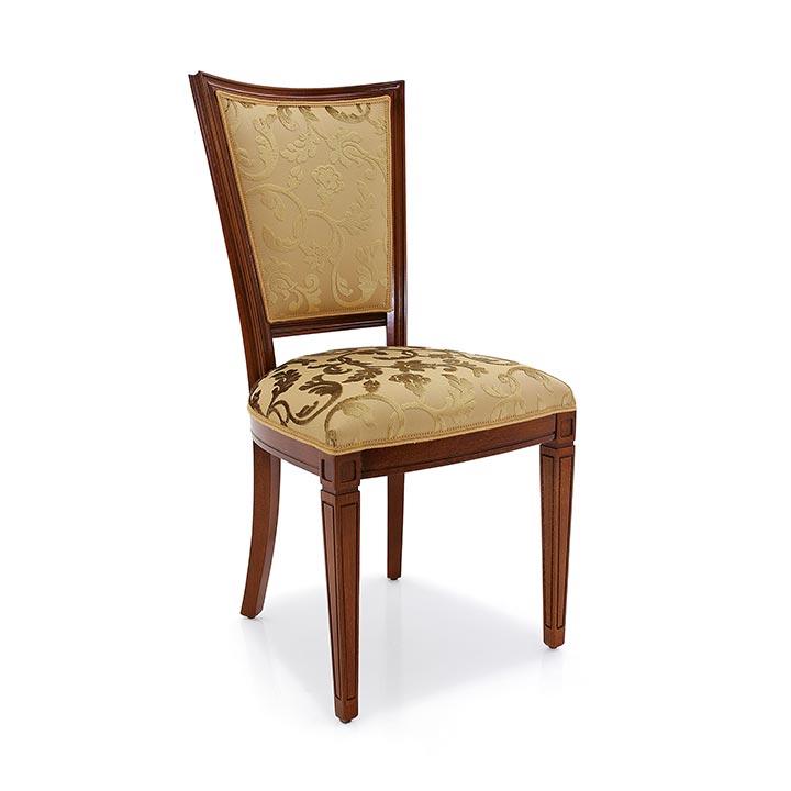 Sedia stile classico in legno praga sevensedie for C4 arredamenti
