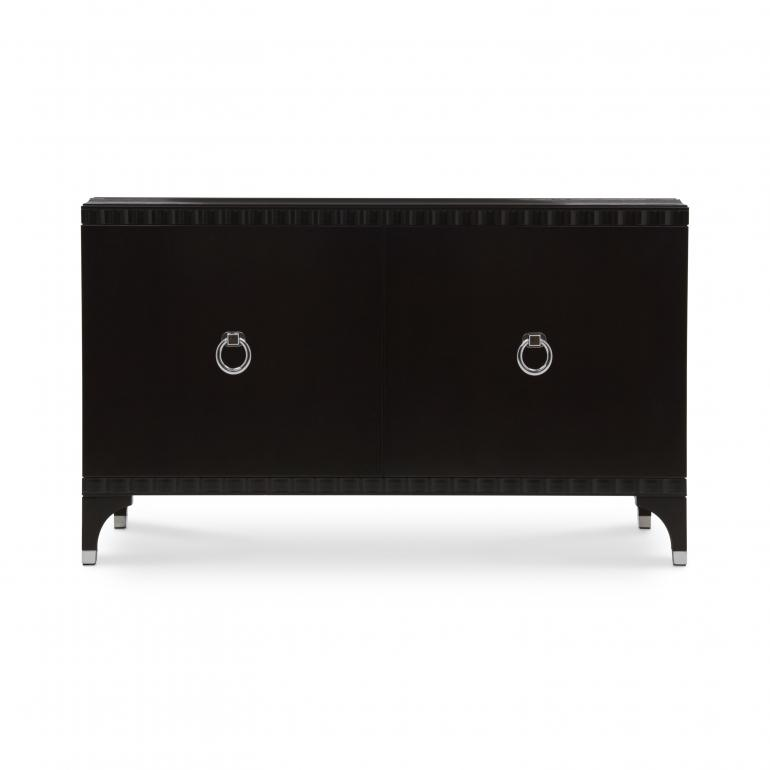7139 modern style wood chest ellipse b