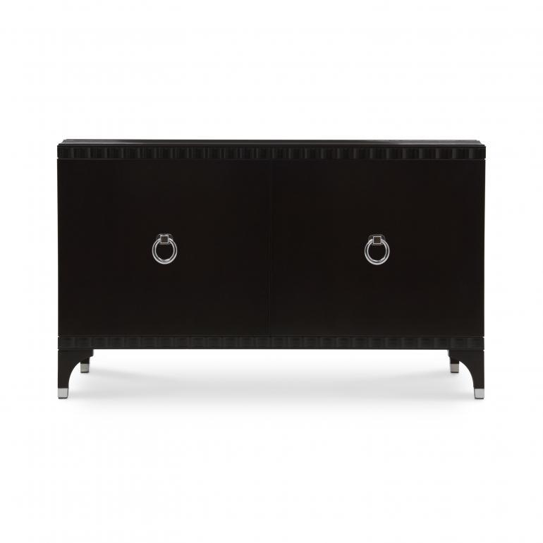 7139 modern style wood chest ellipse b