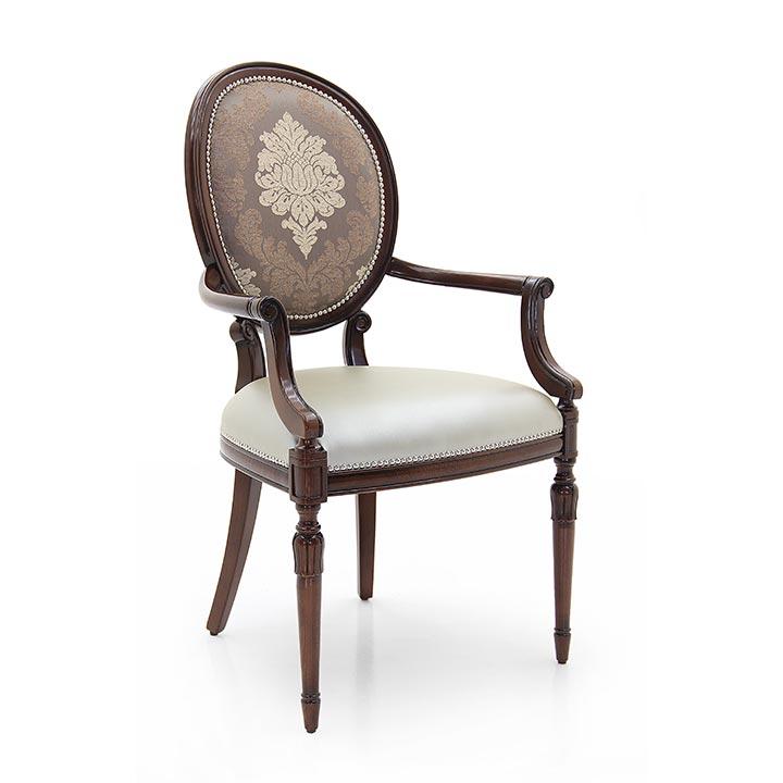 716 classic style wood armchair olga5
