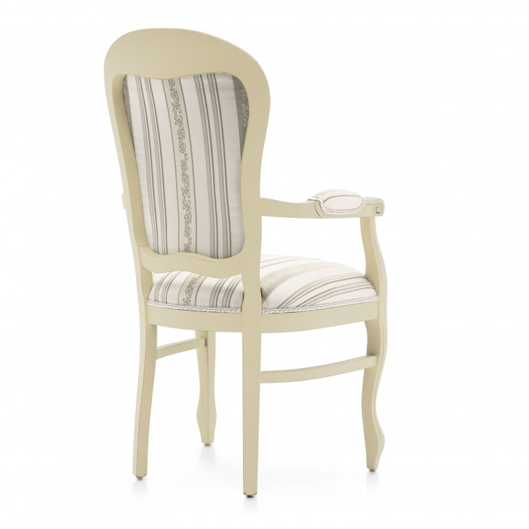 7169 classic style wood armchair mose3