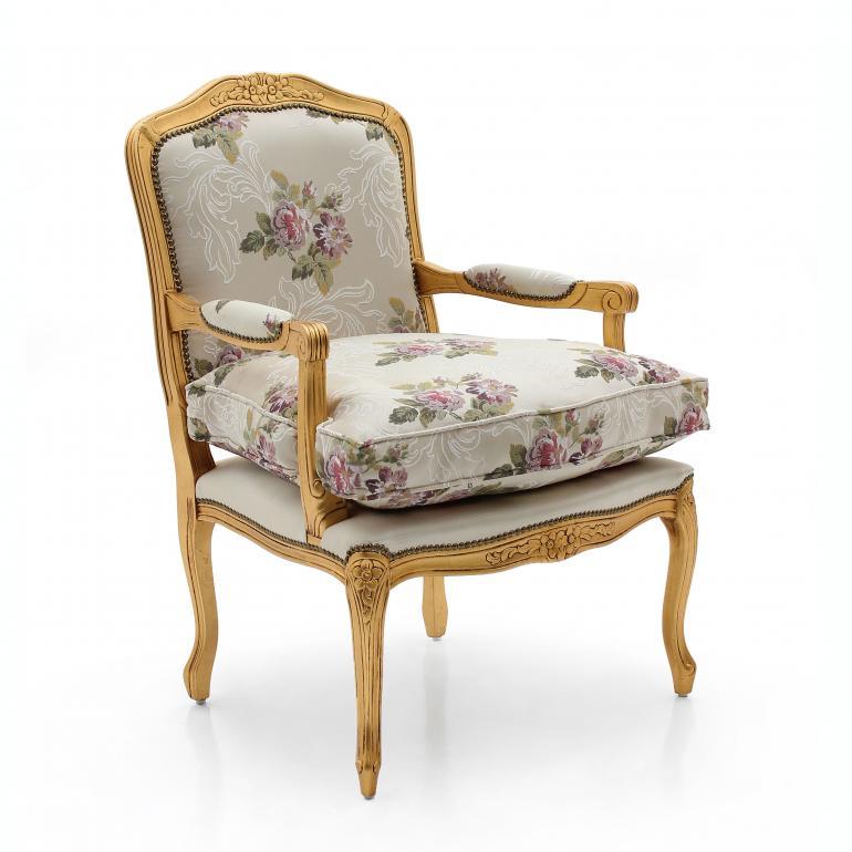 7180 classic style wood armchair duchessa b2