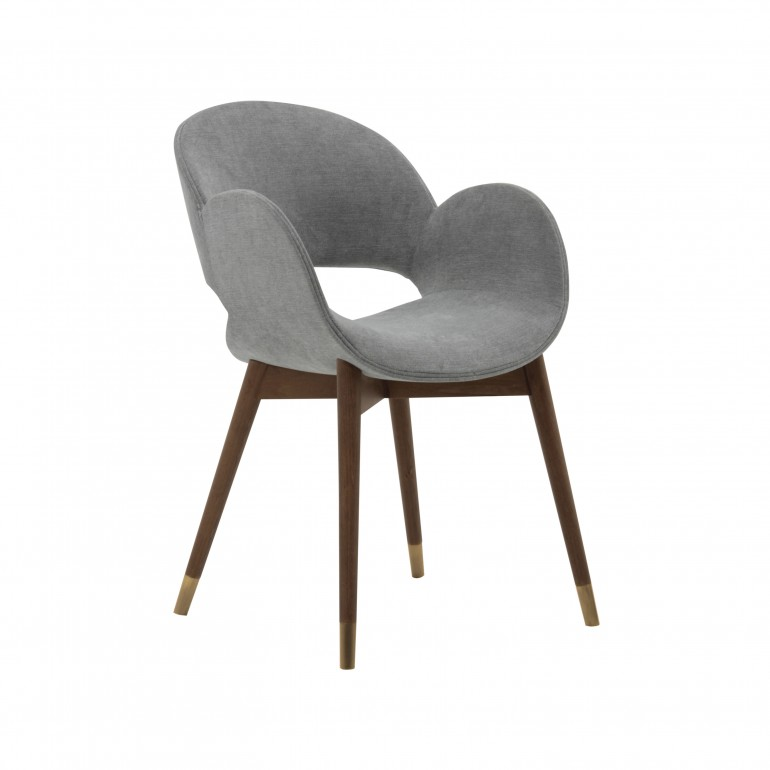 7192 modern style wood armchair mina