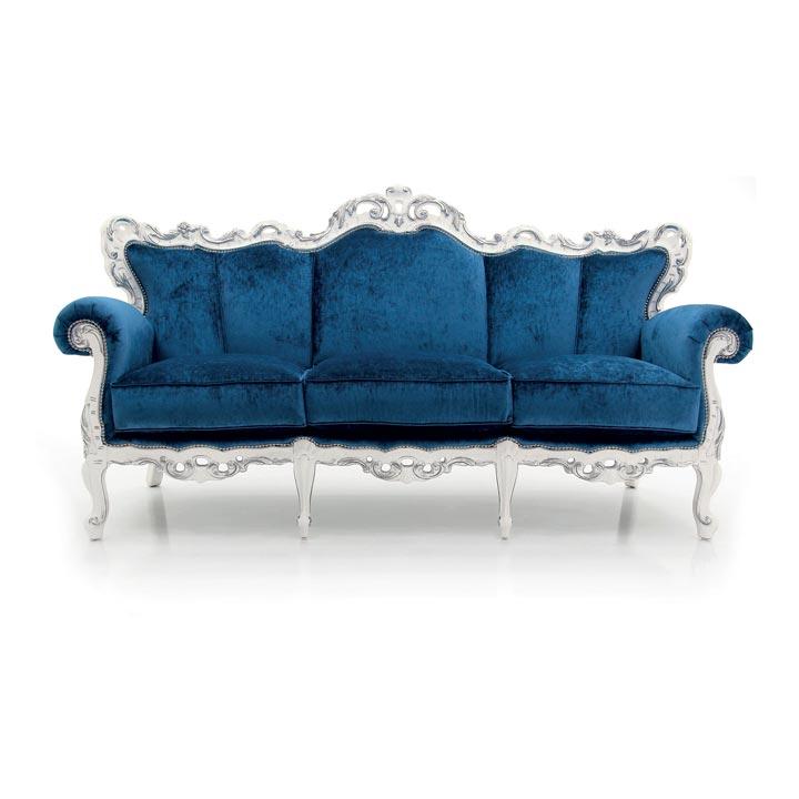 72 baroque style wood sofa palermo
