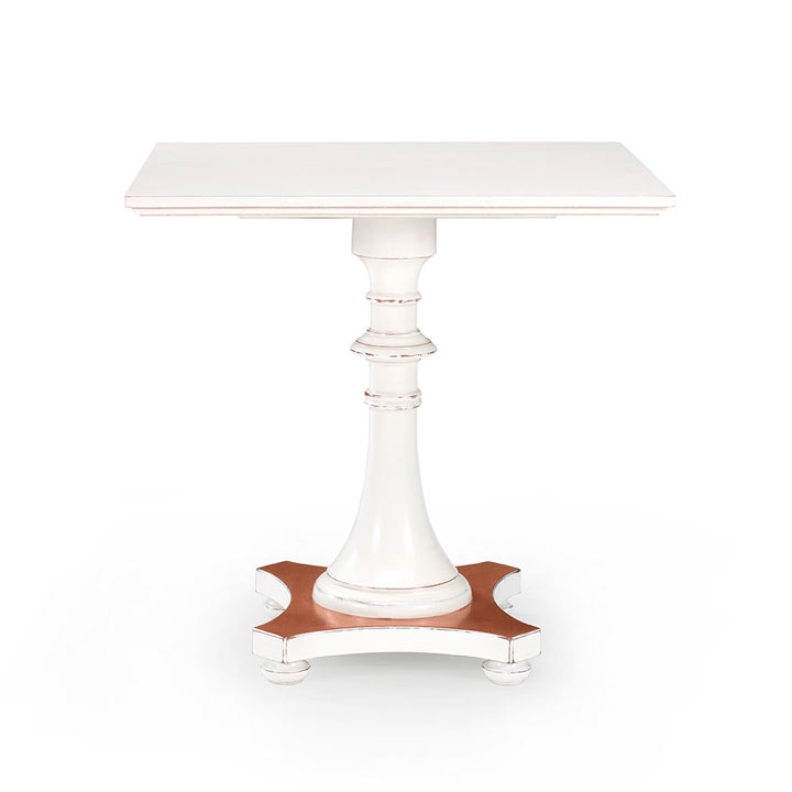 72 classic style wood table petit