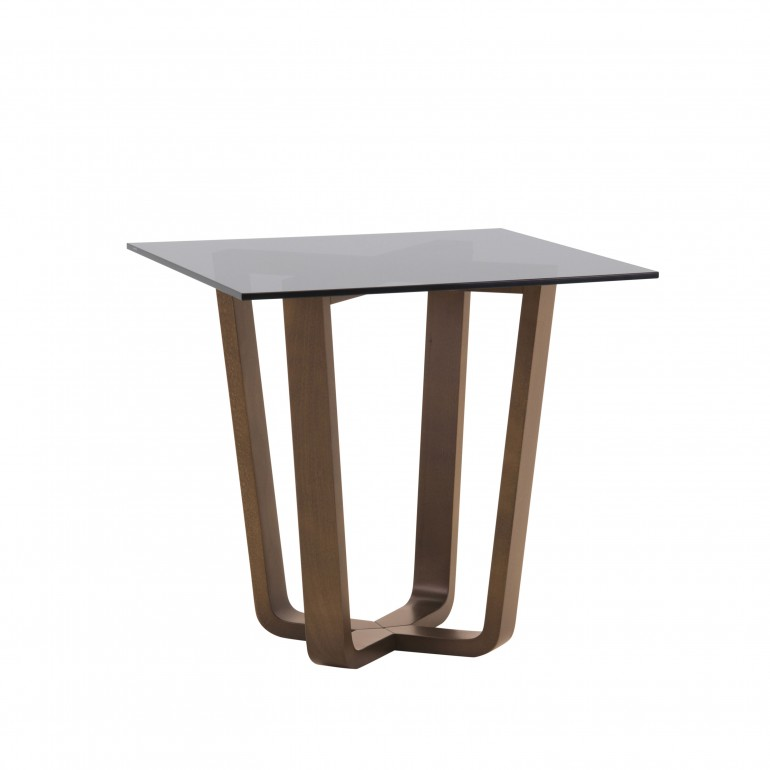 contemporary style wooden lamp table