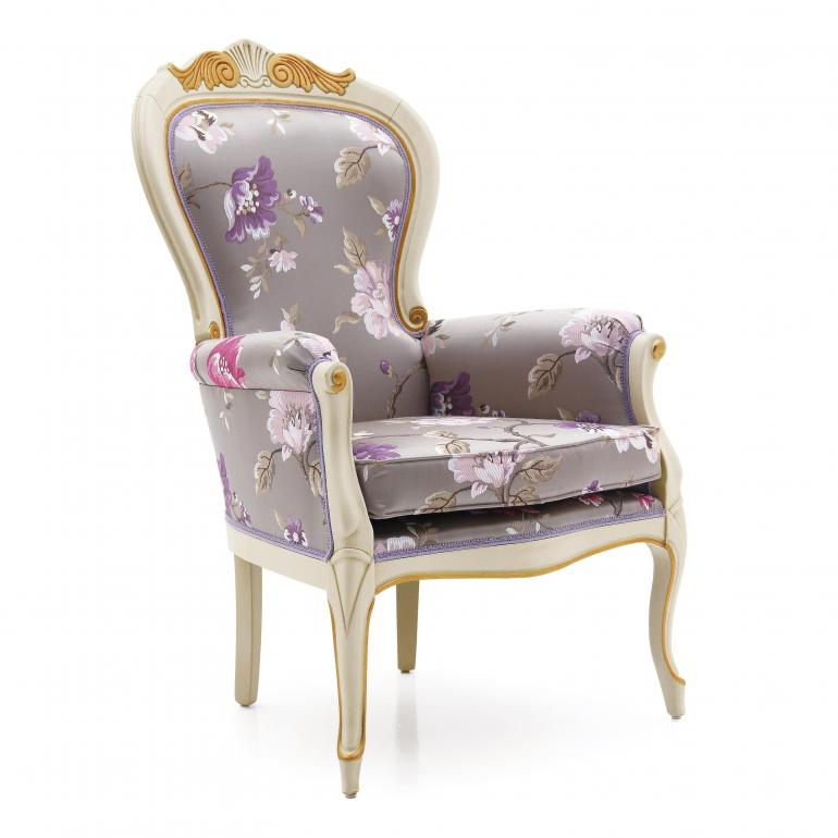 7272 classic style wood armchair foglia3
