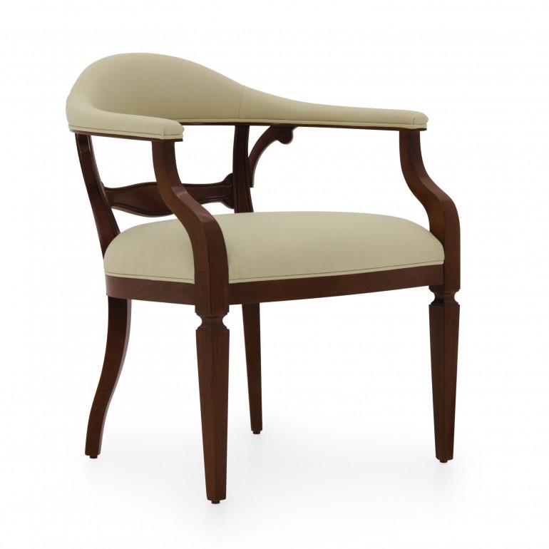 7352 classic style wood armchair taurus b
