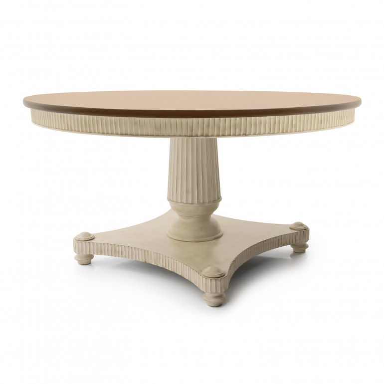 736 classic style wood table priamo2