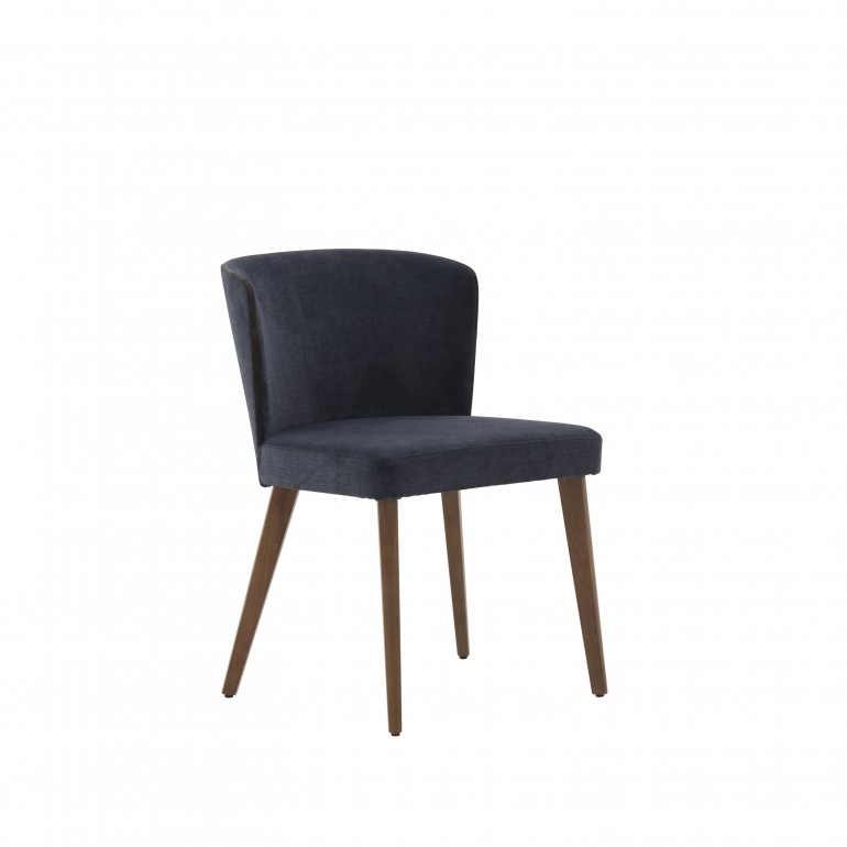 7372 modern style wood chair eva