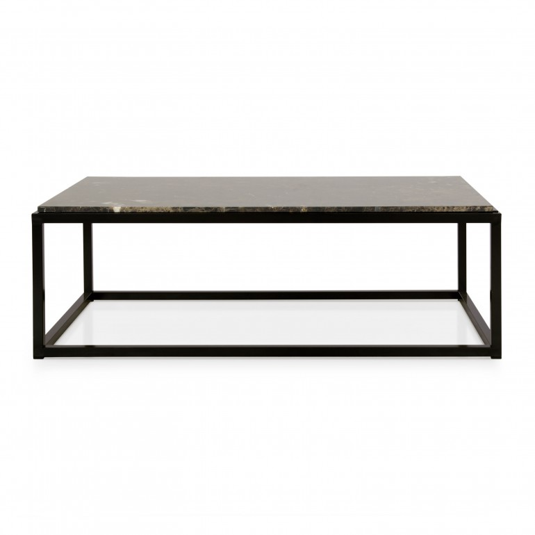 modern style metal coffee table