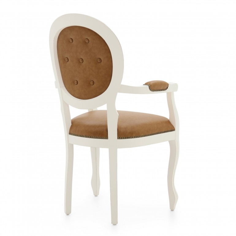 7387 classic style wood armchair liberty3