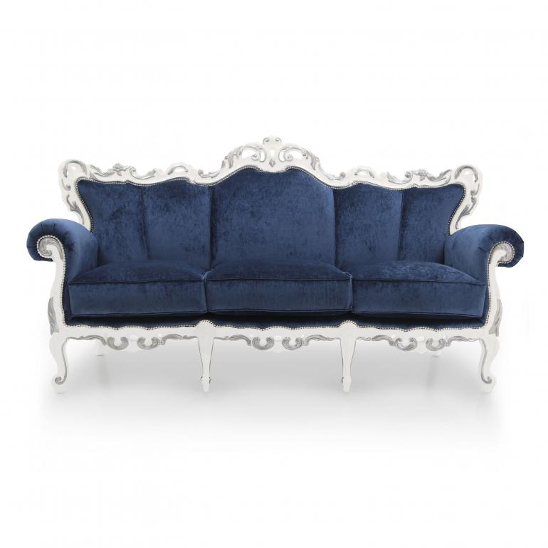 7402 baroque style wood sofa palermo