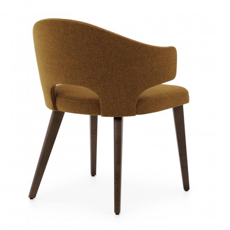 7477 modern style wood armchair eva8