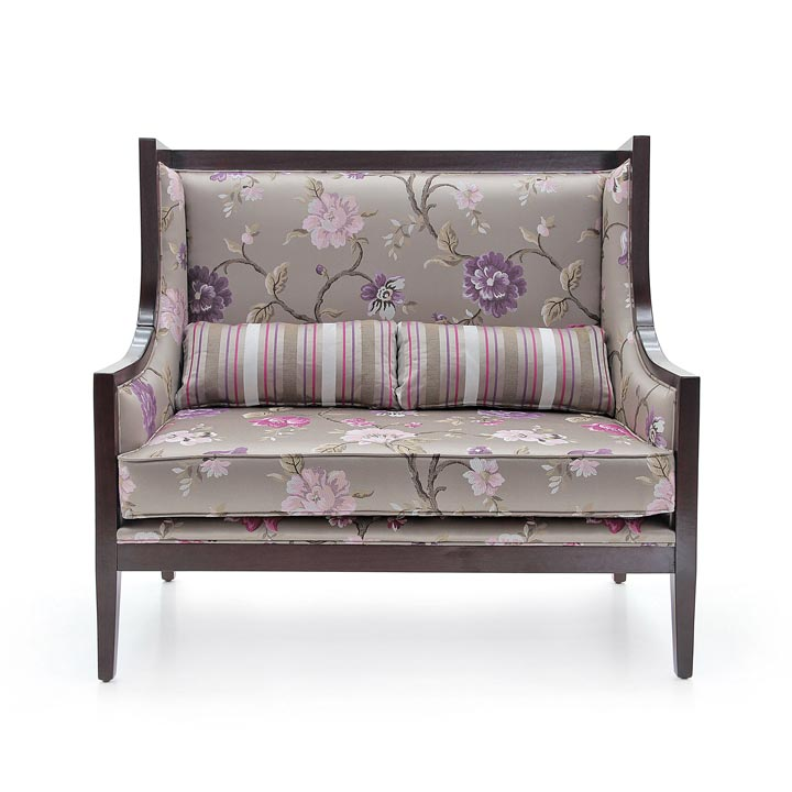 75 modern style wood sofa miranda b