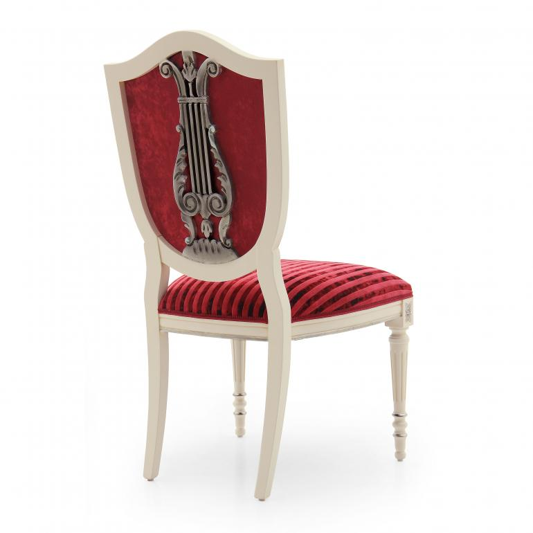 7508 classic style wood chair violino b3