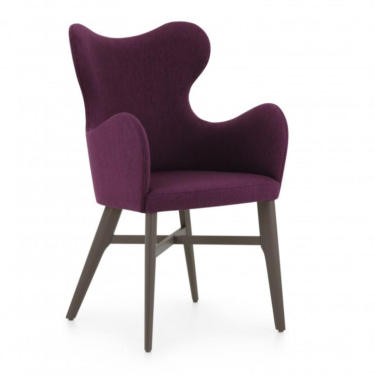 7546 modern style wood armchair auribus4