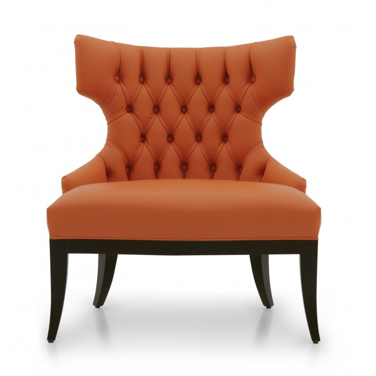 7573 modern style wood armchair irene7