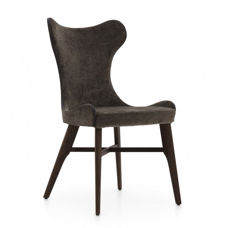 758 modern style wood chair auribus
