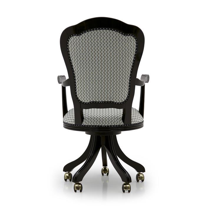 759 classic style wood armchair flavia5