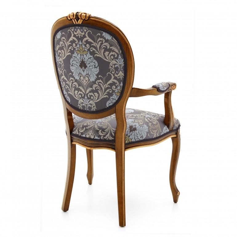 7611 classic style wood armchair kiev3
