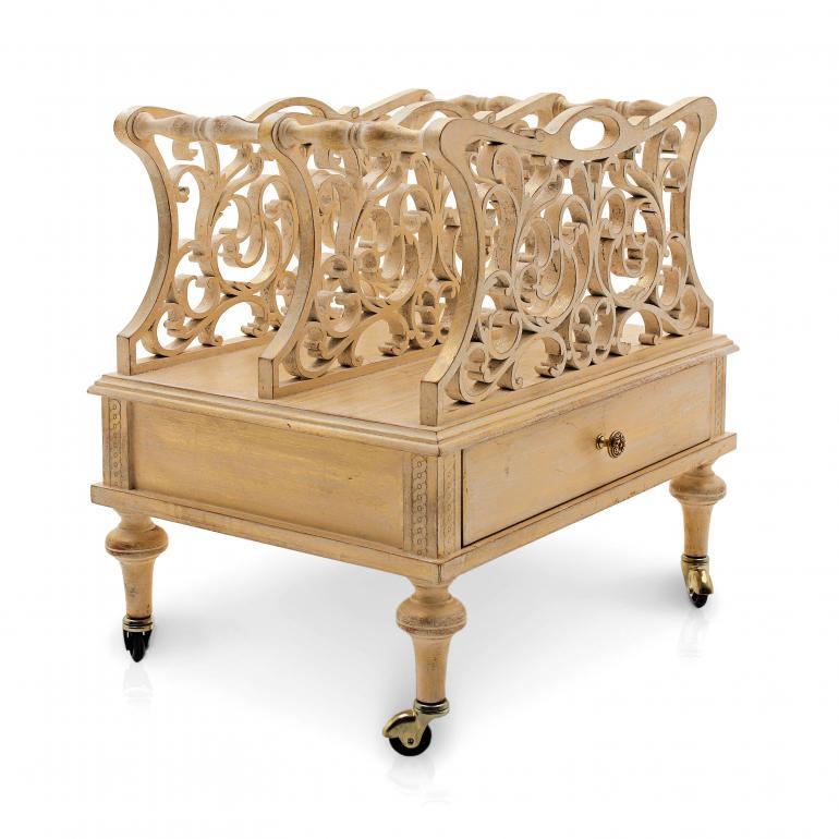 portariviste legno stile classico