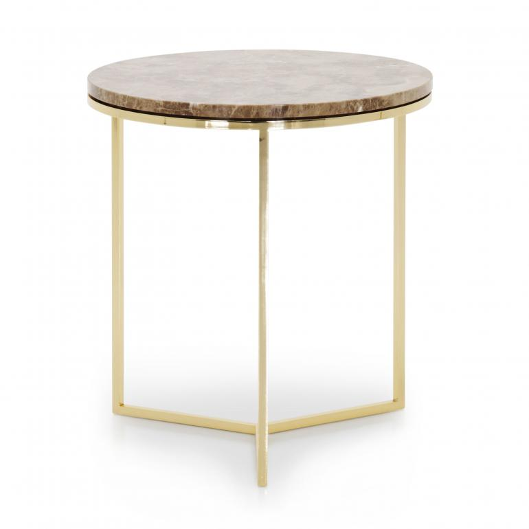 7630 modern style metal table trio c2