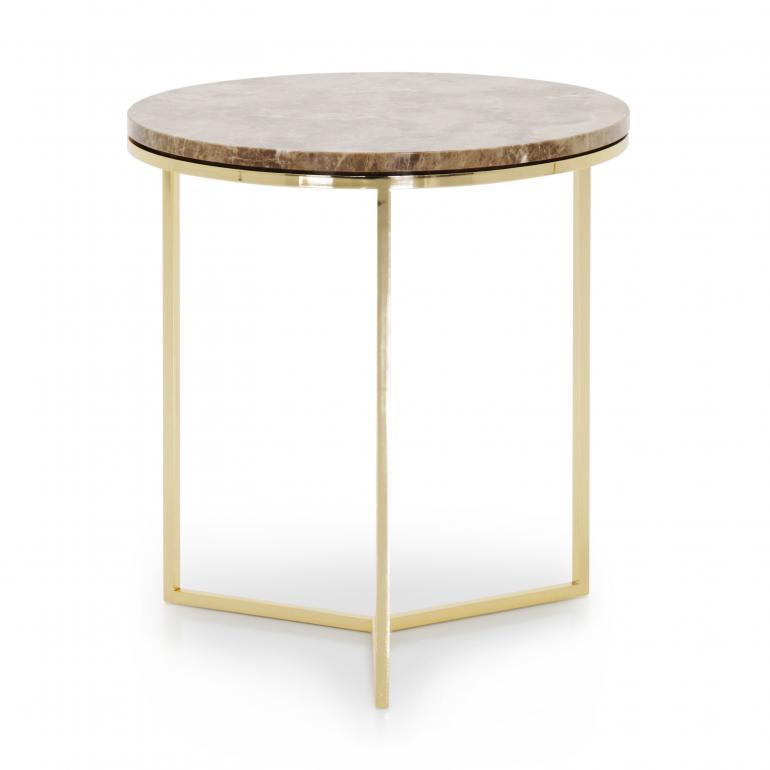 7630 modern style metal table trio c2