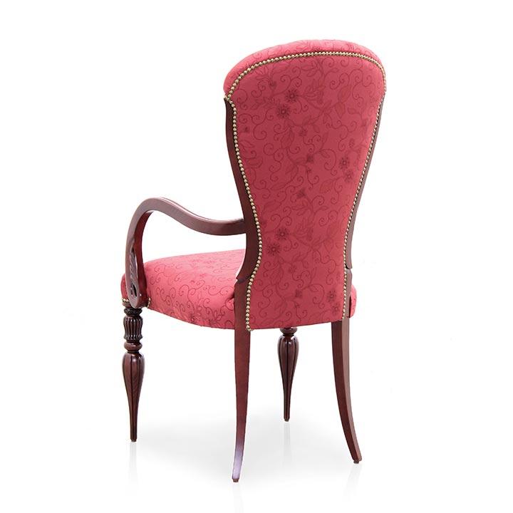 77 modern style wood armchair adele6