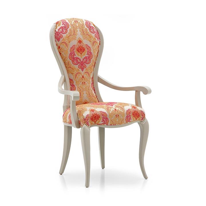 77 modern style wood armchair alina