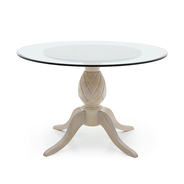 774 modern style wood table ananas2