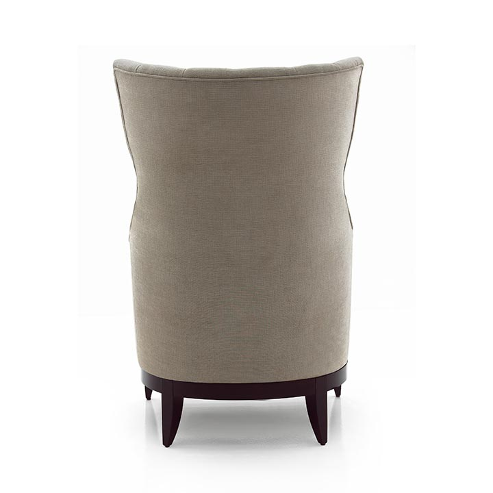 783 modern style wood armchair queen6
