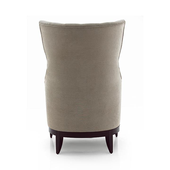 783 modern style wood armchair queen6
