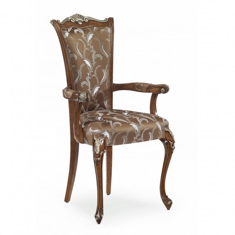 7853 classic style wood chair armchiara