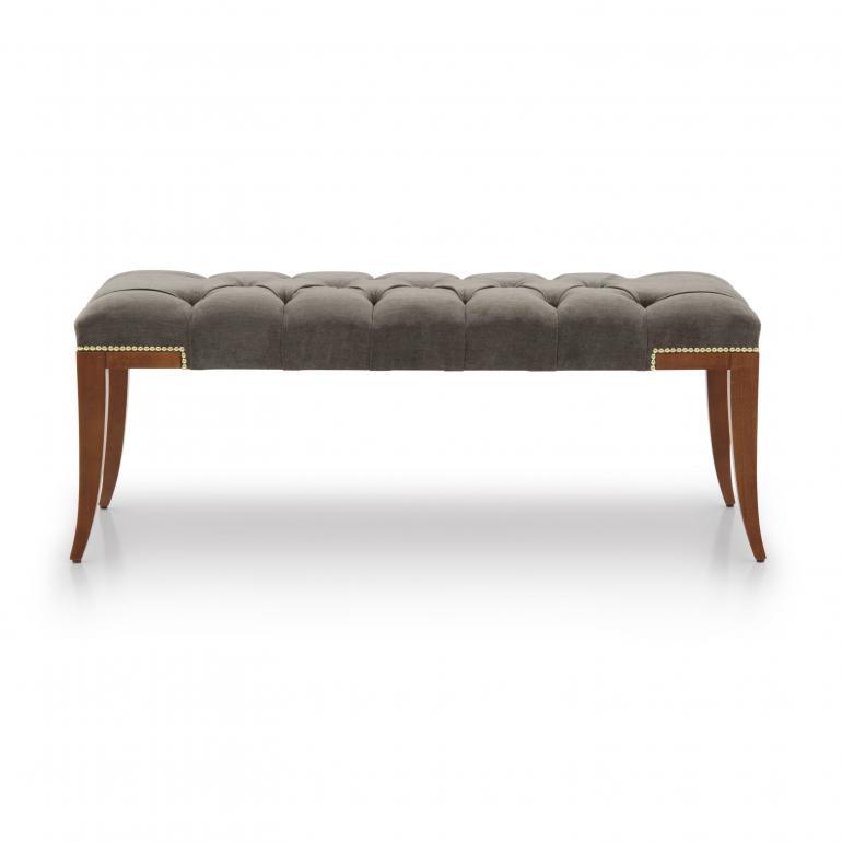 7860 modern style wood bench idra7