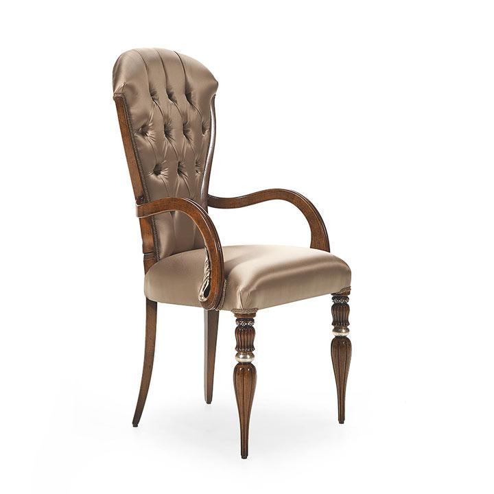 8 modern style wood armchair adele