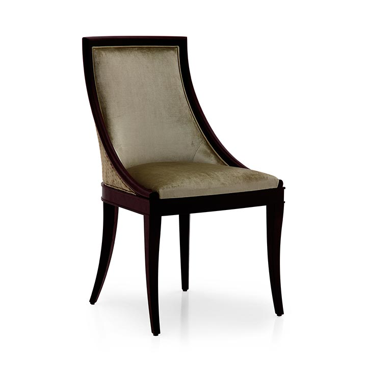 8 modern style wood chair amina