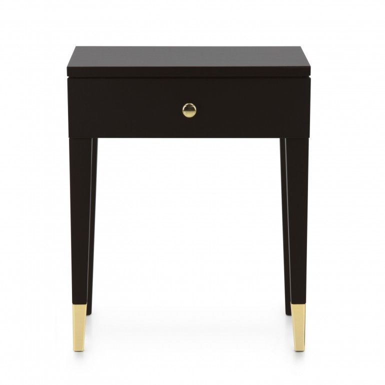 8069 modern style wood bedsidetable look