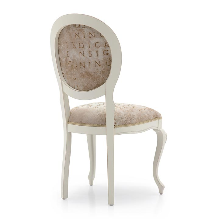 808 classic style wood chair evia3