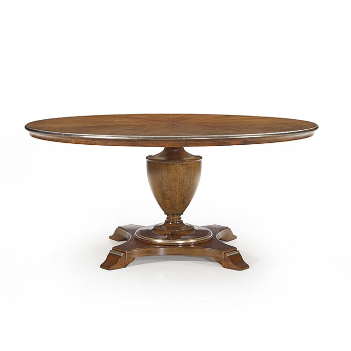 811 classic style round wood table biscotus7