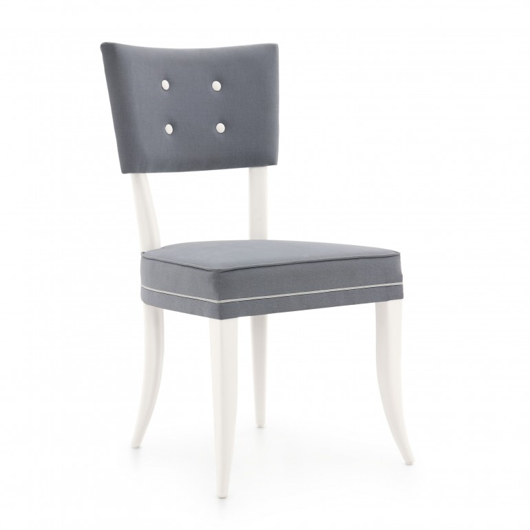 815 modern style wood chair silvia